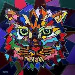 portrait of a cat By Yosef Reznikov