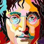 Portrait Of John Lennon, Yosef Reznikov