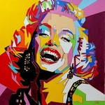 Portrait Of Marylin Monroe, Yosef Reznikov
