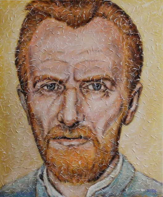 Yosef Reznikov  'Vincent Van Gogh', created in 2020, Original Painting Other.