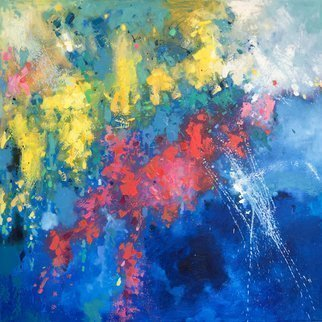 Jinsheng You Artwork abstract 223, 2017 Oil Painting, Abstract