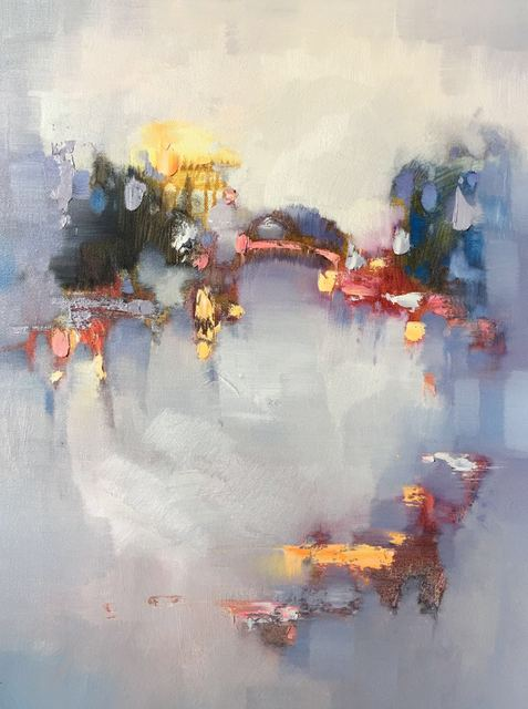 Jinsheng You  'Abstract 407', created in 2020, Original Painting Oil.