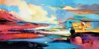 Jinsheng You: 'colorful cloud 679', 2020 Oil Painting, Abstract. I d like to express my emotion with vibrant colors and unique brush. This is an original abstract oil painting on canvas, it is one- of- kind, i have got it done recently.Due to long distance, the painting will be rolled in a tube for shipping, without framing or ...