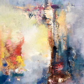 Jinsheng You Artwork emotion 304, 2017 Oil Painting, Abstract