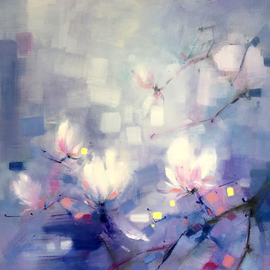 Jinsheng You Artwork floral 287, 2017 Oil Painting, Floral