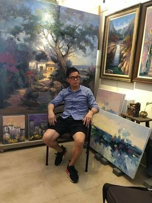 Personal Photo of Jinsheng You, Artist 300 x 400