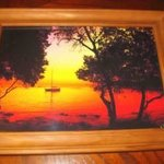 Moon Sunset At Standrew Island Croatia Fine Artwork, Andrew Young