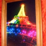 Night Rainbow Stars Eiffel Tower, Andrew Young