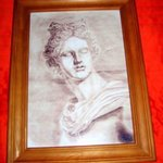 Phytian Apollo classical artwork pencil style By Andrew Young