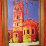 St LAZARUS CHUCH CYPRUS canvas artwork very colorful By Andrew Young