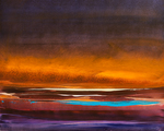 Artist: Nicholas Down, title: Desert Light, 2012, Painting Oil