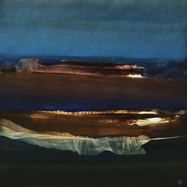 Nicholas Down: 'Light Reflections', 2007 Oil Painting, Abstract. Artist Description:  Oil on Gesso ...