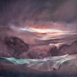 Nicholas Down: 'Numinous Mist', 2007 Oil Painting, Abstract. Artist Description:  Oil on Gesso ...
