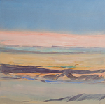 Artist: Nicholas Down, title: Painted Desert 2, 2012, Painting Oil