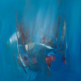 Nicholas Down: 'Water Curtains', 2011 Oil Painting, Abstract Figurative. Artist Description:      Oil ln Gesso                     ...