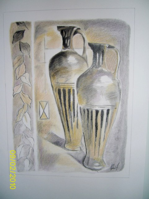 Pavlov Apostolov  'The Emperor Vases', created in 2010, Original Other.