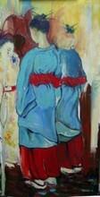 - artwork Gossip-1310003483.jpg - 2009, Painting Oil, Figurative