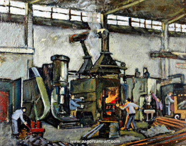 Gentian Zagorcani The Factory 1987