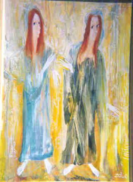 Zaal Lobjanidze: Sunlight, 2002 Oil Painting