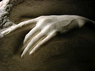 Zamin Hussain: 'detail of The dying mermaid', 2009 Stone Sculpture, Figurative. Artist Description:  marble sculpture ...