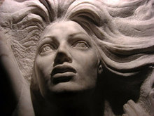 - artwork detail_of_The_dying_mermaid-1234294674.jpg - 2009, Sculpture Stone, Figurative