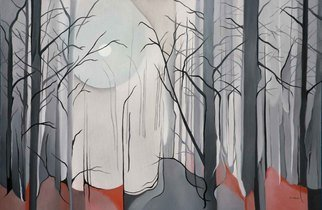 Terry Zarate: 'Fall Morning', 2008 Oil Painting, Seasons.