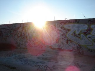 Rickie Dickerson Artwork Graffiti one, 2007 Color Photograph, Activism