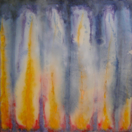 Rickie Dickerson: 'Oil Play 1', 2005 Oil Painting, Abstract. Artist Description: My newest supporter, Jai Khalsa purchased this. Thank you! ! ! ...