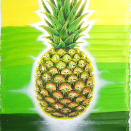 pineapple teleportation By Zaure Kadyke