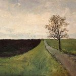 Road with tree By Marton Zavorszky