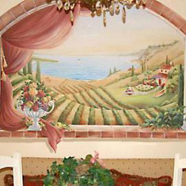 Kitchen Mural By Marsha Bowers