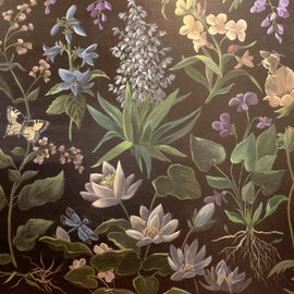 Marsha Bowers: 'hope', 2020 Oil Painting, Floral. Artist Description: Painted during Covid 19. Flowers symbolize growth, renewing and hope and I wanted to express this through this piece. Painted in oil on canvas. ...