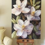magnolias By Marsha Bowers