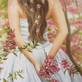 Marsha Bowers: 'promises', 2020 Oil Painting, Representational. Artist Description: Oil on canvas. ...