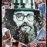 Allen Ginsberg on The Lower East Side By Antony Zito