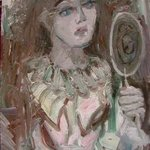 Actress With Mirror, Dana Zivanovits