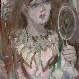 ACTRESS WITH MIRROR By Dana Zivanovits