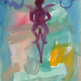 Cupid On Unicycle, Dana Zivanovits