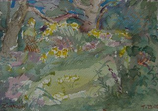 Artist: Dana Zivanovits - Title: FIELD FLOWERS - Medium: Watercolor - Year: 2008