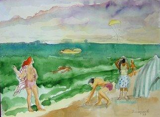 Artist: Dana Zivanovits - Title: FORT LAUDERDALE 1 - Medium: Watercolor - Year: 1987