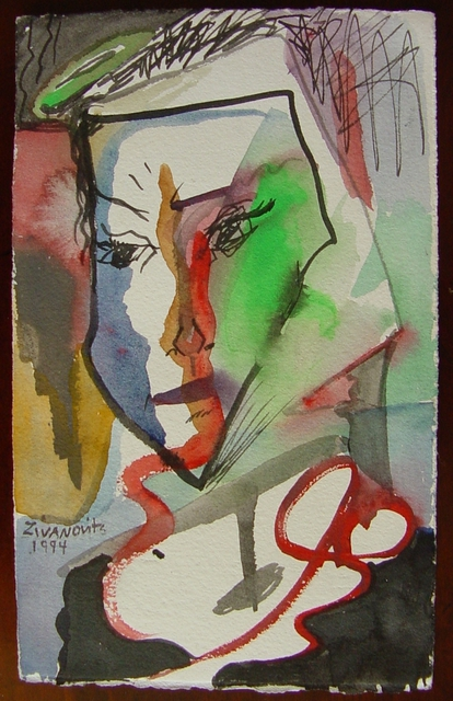 Dana Zivanovits  'JEALOUSY', created in 1994, Original Painting Other.