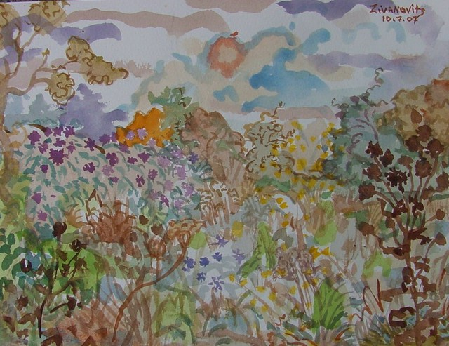 Dana Zivanovits  'LATE SUMMER MEADOW 2', created in 2007, Original Painting Other.