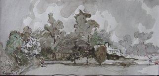 Artist: Dana Zivanovits - Title: MEETING - Medium: Watercolor - Year: 1991