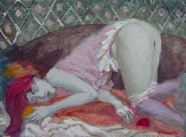 Erotic watercolors pastels
