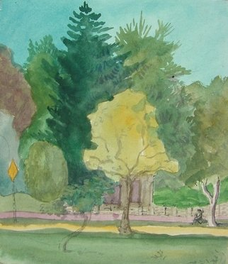 Artist: Dana Zivanovits - Title: SEPTEMBER - Medium: Watercolor - Year: 1998