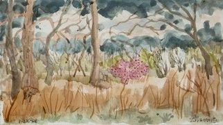 Artist: Dana Zivanovits - Title: SPRING RAINS - Medium: Watercolor - Year: 2008