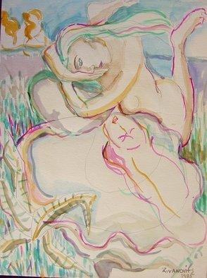 Artist: Dana Zivanovits - Title: STILL WATERS - Medium: Watercolor - Year: 1985