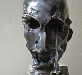 Bronze Sculpture by Zoja Trofimiuk titled: Sorrow, 2012