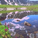 alpine lake 1 By Steve Tohari