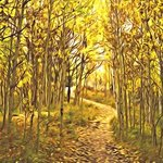 autumn trail 1 By Steve Tohari